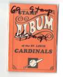1969 Topps Stamp Album with Stamps ST LOUIS CARDINALS Team Set