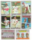 1970 Topps - VG+EX Condition ST LOUIS CARDINALS Team Set