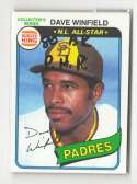 1980 Burger King Pitch, Hit and Run - SAN DIEGO PADRES Team Set