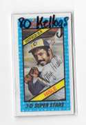 1980 Kelloggs MILWAUKEE BREWERS Team Set