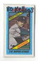 1980 Kelloggs NEW YORK YANKEES Team Set