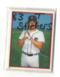 1983 Topps Stickers - DETROIT TIGERS Team Set