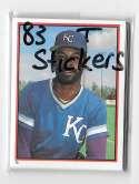 1983 Topps Stickers - KANSAS CITY ROYALS Team Set