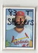 1983 Topps Stickers - ST LOUIS CARDINALS Team Set