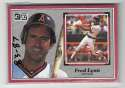 1983-87 Donruss Action All-Star (3x5) CALIFORNIA ANGELS