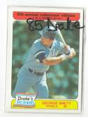1985 Drakes KANSAS CITY ROYALS Team Set