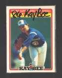 1986 Kay-Bee TORONTO BLUE JAYS Team Set