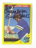 1986 Topps Baseball Champion SuperStars - SEATTLE MARINERS Team Set