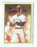 1986 Topps Glossy Send-Ins - SEATTLE MARINERS Team Set