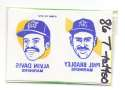 1986 Topps Tattoos - SEATTLE MARINERS Team Set