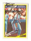 1987 Topps Woolworths - MONTREAL EXPOS Team Set