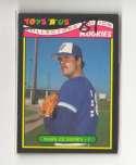 1987 Toys R Us Rookies - TORONTO BLUE JAYS Team Set