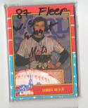 1987 Fleer World Series Subset (12 Cards)