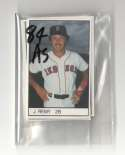 1984 All-Star Game Program Inserts BOSTON RED SOX Team Set