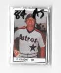 1984 All-Star Game Program Inserts HOUSTON ASTROS Team set