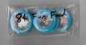 1984 Fun Food Pins - KANSAS CITY ROYALS Team Set