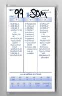 1999 Strat-O-Matic Season - SEATTLE MARINERS Team Set