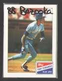 1988 Bazooka - TORONTO BLUE JAYS Team Set