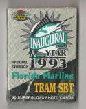 1993 Topps Stadium Club Inaugural Factory Team Set FLORIDA MARLINS Team Set