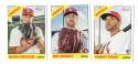 2015 Topps Heritage High Hi Numbers - ST LOUIS CARDINALS Team Set