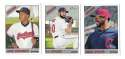 2015 Topps Heritage High Hi Numbers (501-700) CLEVELAND INDIANS Team Set