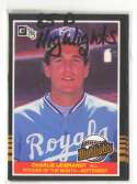 1985 Donruss Highlights - KANSAS CITY ROYALS Team Set