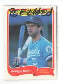 1985 Fleer Limited Edition - KANSAS CITY ROYALS Team Set