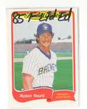 1985 Fleer Limited Edition - MILWAUKEE BREWERS Team Set