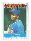 1986 Fleer League Leaders CHICAGO CUBS Team Set