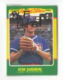 1986 Fleer Limited Edition CHICAGO CUBS Team Set