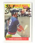 1986 Fleer Sluggers vs Pitchers CHICAGO CUBS Team Set