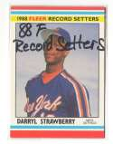 1988 Fleer Record Setters - NEW YORK METS Team Set
