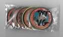 1971 Topps Coins VG Condition - KANSAS CITY ROYALS Team Set