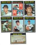 1971 Topps VG-EX BOSTON RED SOX Team Set