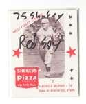 1975 Shakeys Pizza - BOSTON RED SOX Team Set