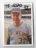 1975 SSPC 42 - MILWAUKEE BREWERS