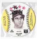 1976 Isaly Disc - NEW YORK METS Team Set