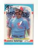 1989 Fleer Heroes of Baseball MONTREAL EXPOS Team Set