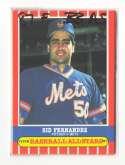 1987 Fleer Baseball All-Stars NEW YORK METS Team Set