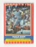 1987 Fleer Baseball All-Stars TEXAS RANGERS Team Set
