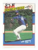 1987 Fleer Exciting Stars CHICAGO CUBS Team Set