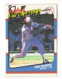 1987 Fleer Exciting Stars MONTREAL EXPOS Team Set