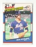 1987 Fleer Exciting Stars NEW YORK METS Team Set