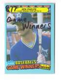 1987 Fleer Game Winners SEATTLE MARINERS Team Set