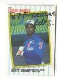 1987 Fleer League Leaders - MONTREAL EXPOS Team Set