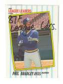 1987 Fleer League Leaders - SEATTLE MARINERS Team Set