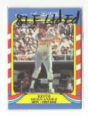 1987 Fleer Limited Edition SuperStars NEW YORK METS Team Set