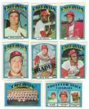 1972 TOPPS EX+ ST LOUIS CARDINALS Team Set