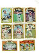 1972 TOPPS EX+ LOS ANGELES DODGERS Team Set