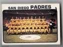 1973 O-Pee-Chee (OPC) VG-EX+ SAN DIEGO PADRES Team Set